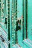 Botão de porta - vintage foto de stock royalty free