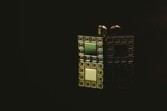 Botão de punho clássicos Imagem de Stock Royalty Free