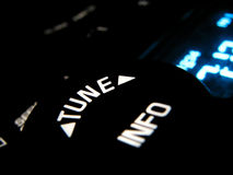 Botão de rádio fotografia de stock