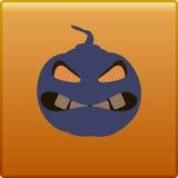 Botão Dia das Bruxas Imagem de Stock