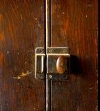 Botão do armário Fotografia de Stock