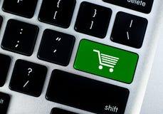 Botão do conceito da compra fotos de stock