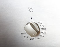 Botão do forno imagens de stock