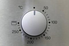Botão do forno fotografia de stock
