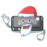 Botão do retrocesso de Santa em um caráter do computador ilustração royalty free