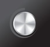 Botão do volume do vetor Foto de Stock Royalty Free