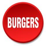 botão dos hamburgueres ilustração royalty free