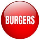 botão dos hamburgueres ilustração do vetor