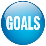 botão dos objetivos ilustração do vetor