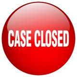 botão fechado do caso ilustração do vetor