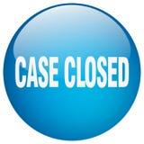 botão fechado do caso ilustração royalty free