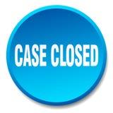 botão fechado do caso ilustração stock