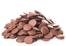 Botão II do chocolate Imagens de Stock