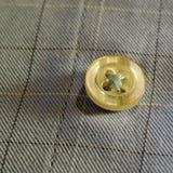 Botão macro em sua camisa Imagem de Stock Royalty Free