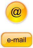 Botão para o local ou o Internet Imagens de Stock