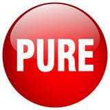 botão puro ilustração royalty free