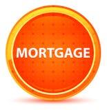 Botão redondo alaranjado natural da hipoteca ilustração do vetor