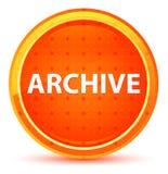 Botão redondo alaranjado natural do arquivo ilustração royalty free