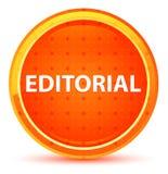 Botão redondo alaranjado natural editorial ilustração stock