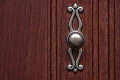 Botão riscado do armário para a porta de armário fotos de stock
