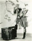 Botín del pirata imagenes de archivo
