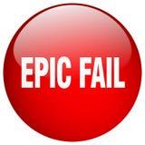botón épico del fall stock de ilustración