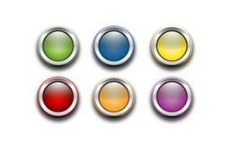 Botón Foto de archivo libre de regalías