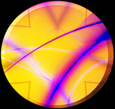 Botón asoleado ilustración del vector