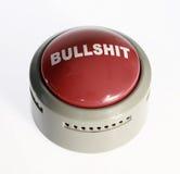 Botón avanzado del bullshit Fotografía de archivo libre de regalías
