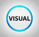 Botón azul redondo visual ilustración del vector
