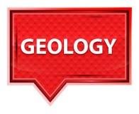 Botón brumoso de la bandera del rosa de rosa de la geología libre illustration