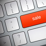 Botón cibernético de lunes en el teclado Fotos de archivo libres de regalías