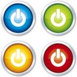 Botón con./desc. stock de ilustración