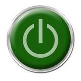Botón con./desc. Imagen de archivo libre de regalías