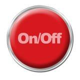 Botón con./desc. Imagenes de archivo