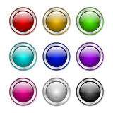 Botón con la muestra de la transferencia directa Libre Illustration