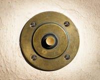 Botón de alarma viejo Imagen de archivo libre de regalías