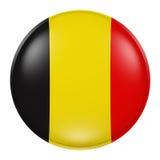 Botón de Bélgica stock de ilustración