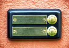 Botón de Bell Imagen de archivo libre de regalías