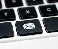 Botón de contacto Imágenes de archivo libres de regalías