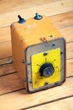 Botón de control análogo Imagen de archivo