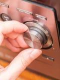Botón de control de volumen de los sonidos imagenes de archivo
