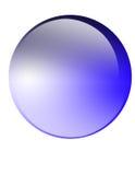 Botón de cristal Foto de archivo