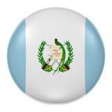 Botón de Guatemala Fotos de archivo