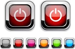 Botón de interruptor. Imágenes de archivo libres de regalías