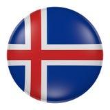 Botón de Islandia libre illustration