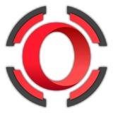 Botón de la ópera ilustración del vector