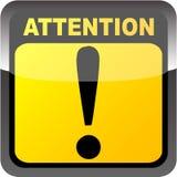 Botón de la atención Libre Illustration