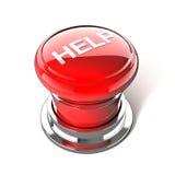 Botón de la ayuda Imagen de archivo
