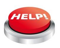 Botón de la ayuda Fotos de archivo